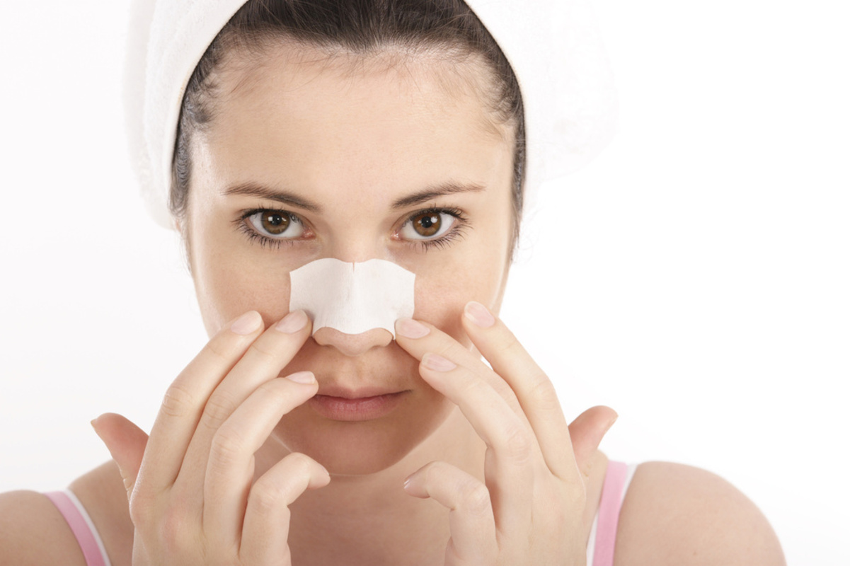 Using Pore Strips
