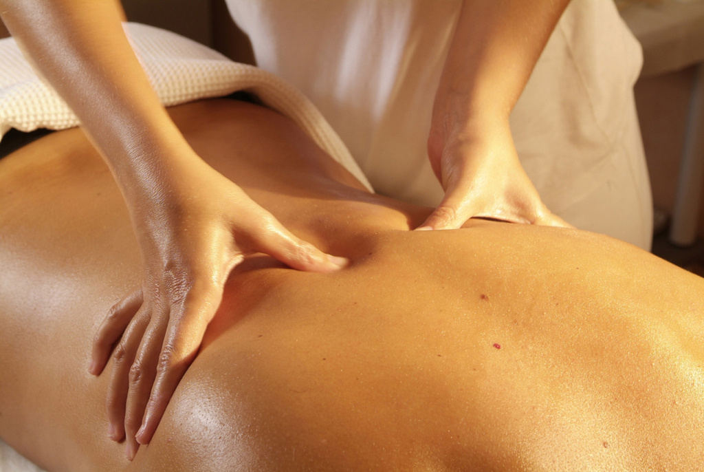 Relax With a Back Facial